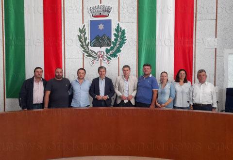 Foto dell'ultimo consiglio comunale dell'era Pellegrino a Sassano